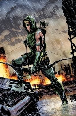 Green Arrow : war of the clans / Jeff Lemire, writer ; Andrea Sorrentino, artist ; Marcelo Maiolo with Andrea Sorrentino, Matt Hollingsworth and HI-FI, colorists ; Denys Cowan and Bill Sienkiewicz, additional artwork ; Rob Leigh, Dezi Sienty and Taylor Esposito, letterers ; Andrea Sorrentino, collection cover artist.