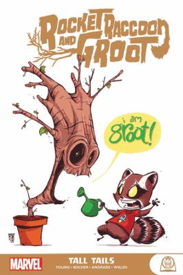 Rocket Raccoon and Groot : tall tails