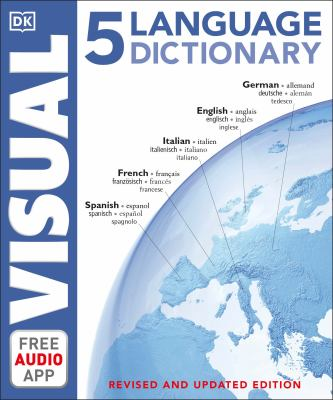5 language visual dictionary.