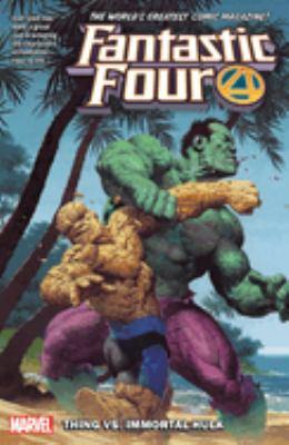 Fantastic Four. Vol. 4, Thing vs. Immortal Hulk