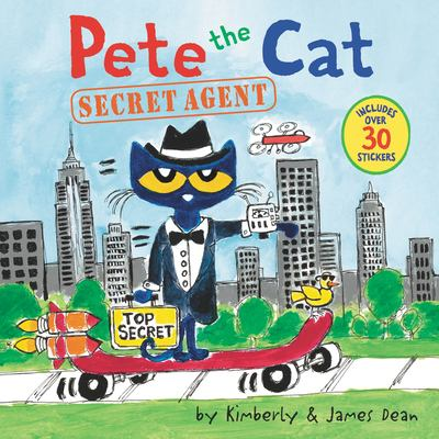 Pete the cat. Secret agent