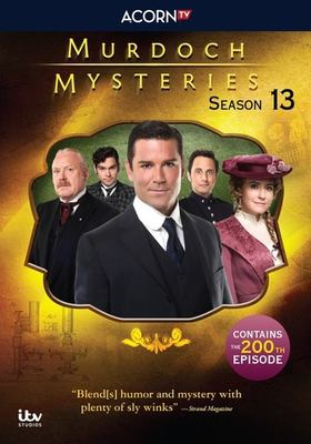 Murdoch mysteries. Season 13 / a Shaftesbury production ; a CBC original series ; in association with ITV Studios Global Entertainment Ltd. ; producer, Julie Lacey.