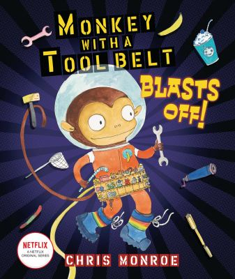 Monkey with a tool belt blasts off!