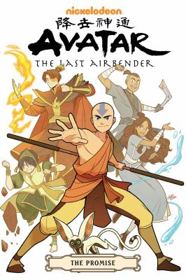 Avatar, the last Airbender : the promise / script, Gene Luen Yang ; art and cover, Gurihiru ; lettering, Michael Heisler ; created by Bryan Konietzko [and] Michael Dante DiMartino.