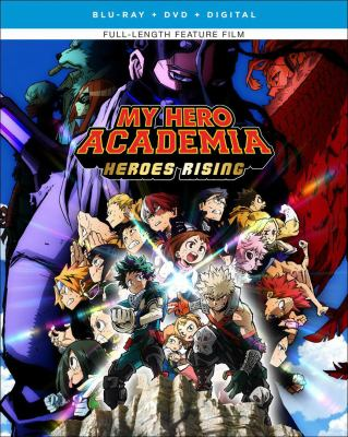 My hero Academia. Heroes rising
