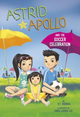 Astrid & Apollo and the soccer celebration