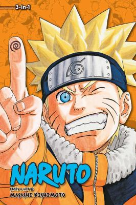 Naruto 3-in-1. Volume 8 : a compilation of the graphic novel volumes 22-24