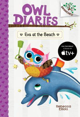 Eva at the beach