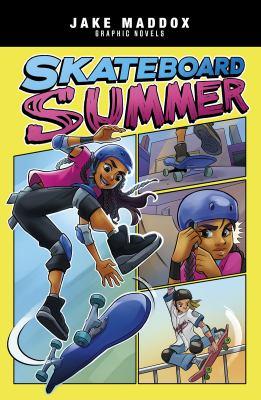 Skateboard summer