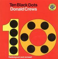 Ten black dots Book cover