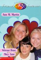 Welcome home, Mary Anne  Cover Image