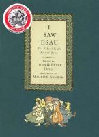 Go to record I saw Esau : the schoolchild's pocket book