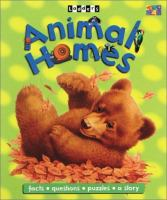 Animal homes Book cover