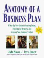 Go to record Anatomy of a business plan : a step-by-step guide to start...