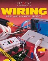 Wiring : basic and advanced projects Book cover