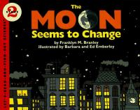 The moon seems to change Book cover
