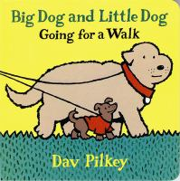 Big Dog and Little Dog going for a walk Book cover