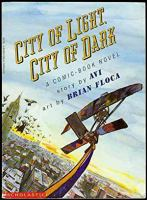 Go to record City of light, city of dark : a comic book novel