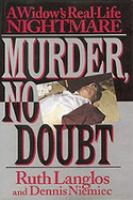 MURDER NO DOUBT  WIDOWS REAL LIFE NIGHTMARE. Cover Image