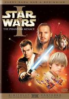 Star wars. Episode I, The phantom menace Book cover