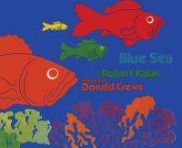 Blue sea Book cover