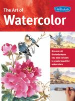 How to draw and paint watercolors. Book cover