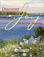 Discover the joy of acrylic painting Book cover