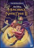 The hunchback of Notre Dame II Book cover