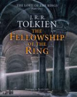 The fellowship of the ring : being the first part of The lord of the rings Book cover