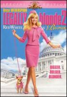 Legally blonde 2 : red, white & blonde Book cover