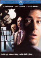 Go to record The thin blue lie