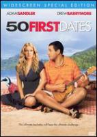 50 first dates Book cover