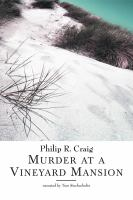 Go to record Murder at a vineyard mansion [a Martha's Vineyard mystery]