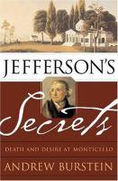 Go to record Jefferson's secrets : death and desire at Monticello