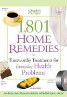 Go to record 1,801 home remedies : trustworthy treatments for everyday ...