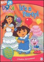 Dora the Explorer. It's a party!  Cover Image