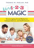 More 1-2-3 magic encouraging good behavior, independence and self-esteem Book cover