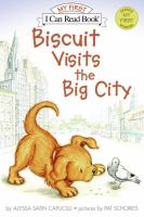 Go to record Biscuit visits the big city