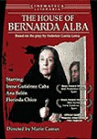 La casa de Bernarda Alba House of Bernarda Alba  Cover Image
