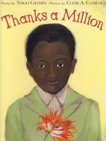 Thanks a million : poems  Cover Image