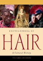 Encyclopedia of hair : a cultural history Book cover
