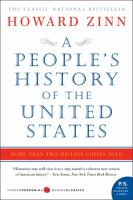 A people's history of the United States : 1492-present  Cover Image