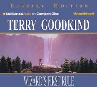 Wizard's first rule Cover Image