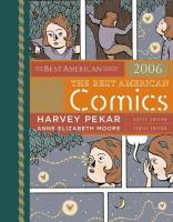 Go to record The best American comics 2006