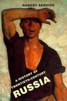 Go to record A history of twentieth-century Russia