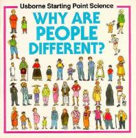 Why are people different?  Cover Image