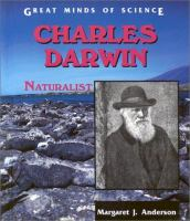 Go to record Charles Darwin, naturalist