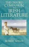 Go to record The Oxford companion to Irish literature
