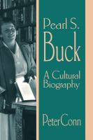Pearl S. Buck : a cultural biography  Cover Image
