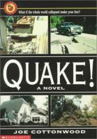 Quake! : a novel  Cover Image